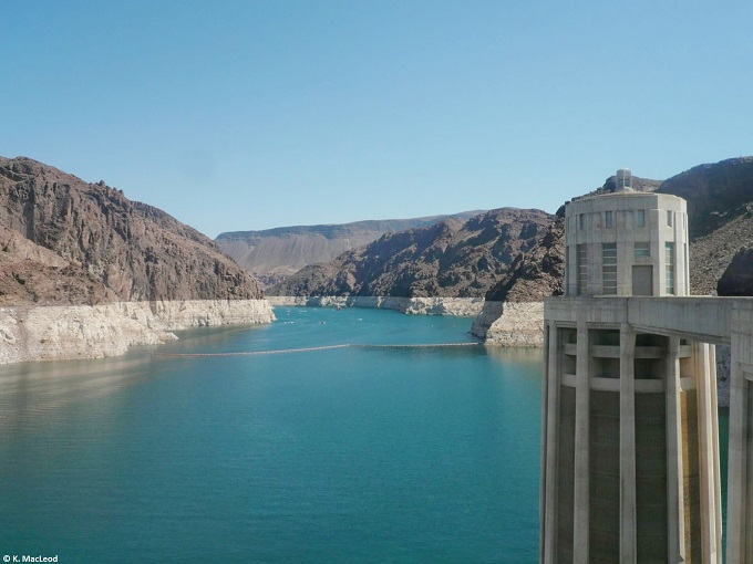 The Hoover Dam, Nevada