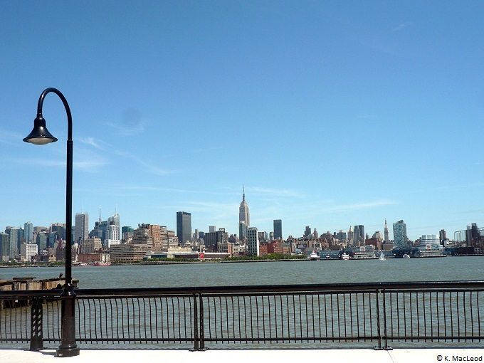 A view of NYC across the Hudson River