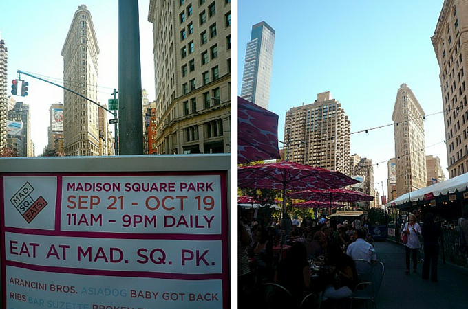 Madison Square Eats, NYC