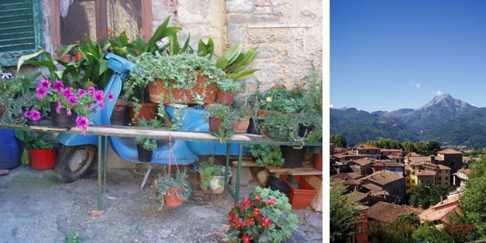 Streets of Barga, Tuscany
