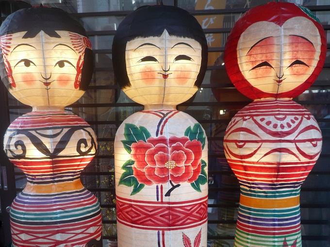Kokeshi dolls at Jizo Dori, Tokyo