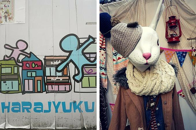 Japanese fashion in Harajuku, Tokyo
