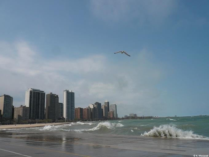 Waves on Lake Michigan, Chicago