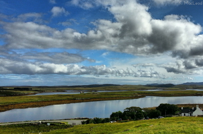 The view over the moors from the Callanish Stones