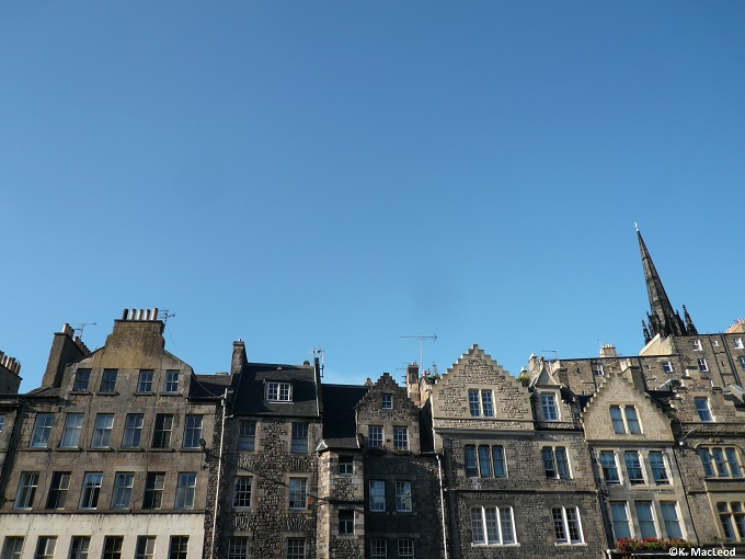Rooftops of the Grassmarket