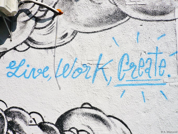Live Work Create - Brooklyn Street Art