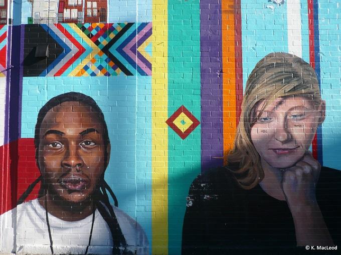 Street art Wicker Park, Chicago