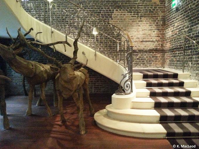 Nikolay Polissky stairway installation