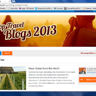 Holiday Hypermarket and the Hebrides: Top Travel Blog of 2013!