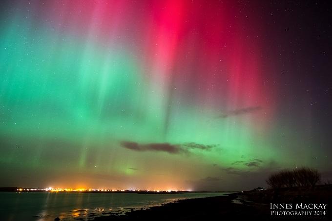 Northern Lights over Stornoway