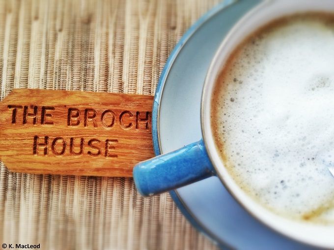 Broch Coffee and Keys