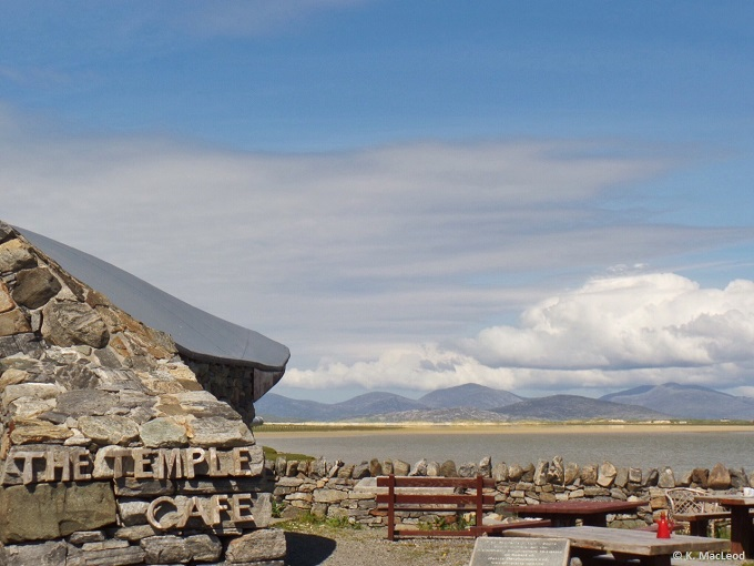 The Temple Cafe Northton Isle of Harris