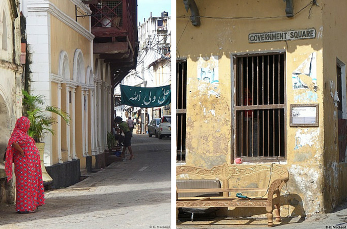 City life in Mombasa