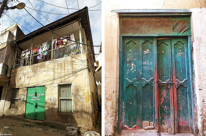 Doorways in Mombasa