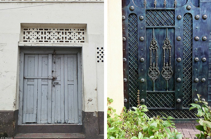 Mombasa doorways