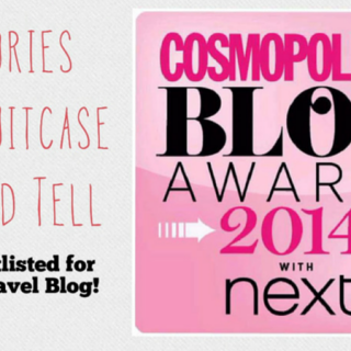 Support Stories My Suitcase Could Tell in the Cosmo Blog Awards!