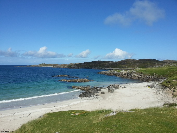 Bosta Beach Outer Hebrides