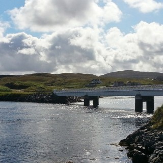 Crossing the Bridge Over the Atlantic to Bernera