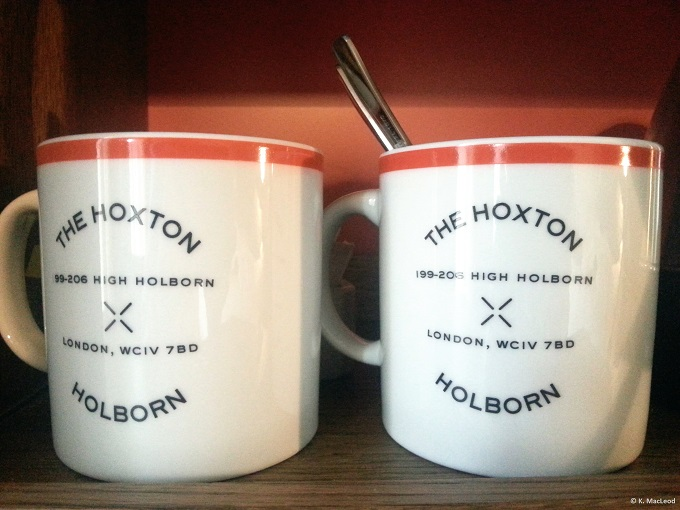 Hoxton Holborn Mugs