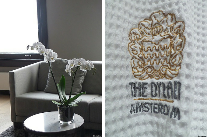 Suite details at The Dylan Amsterdam