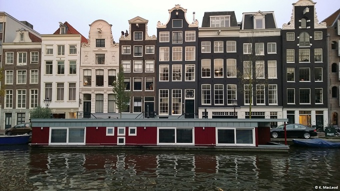 Amsterdam Canal Homes