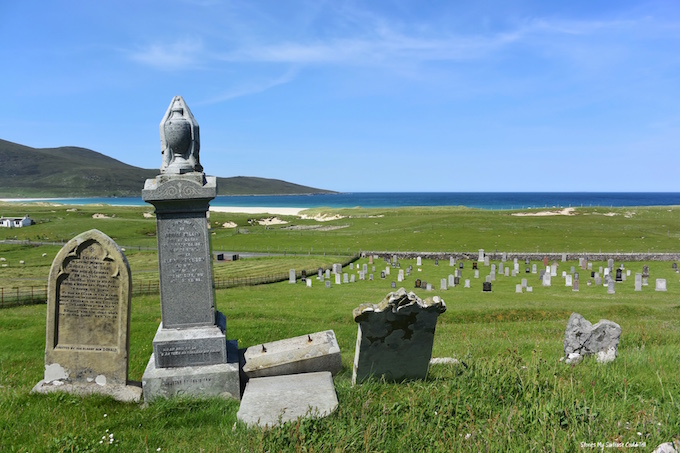 Scarista Graveyard Isle of Harris