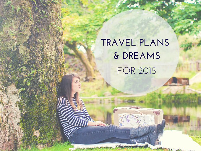 Travel Plans for 2015