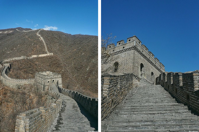 Watchtowers on the Great Wall of China