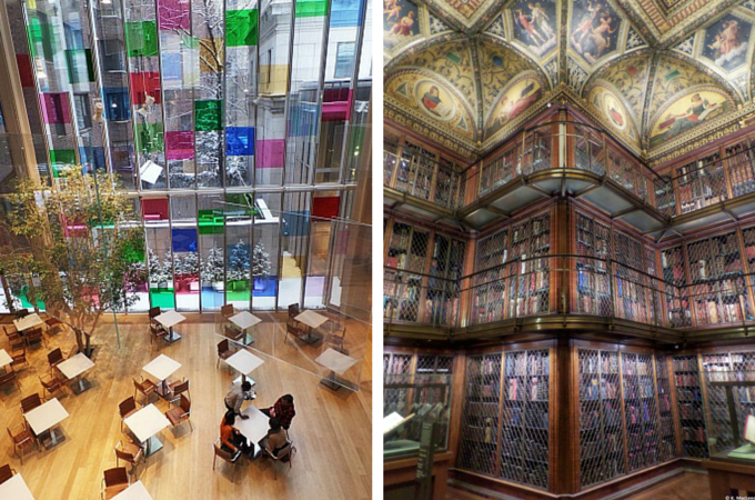 Inside the Morgan Library