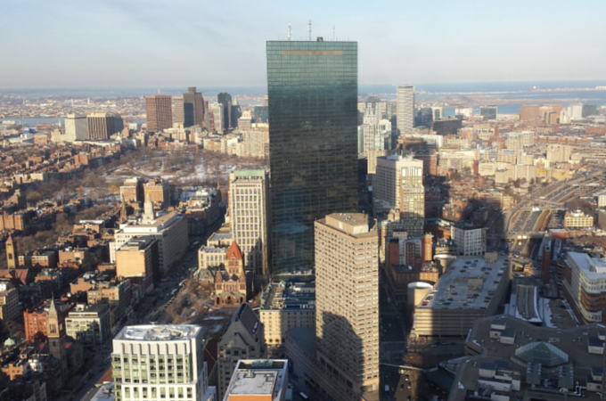 Boston's Hancock Tower