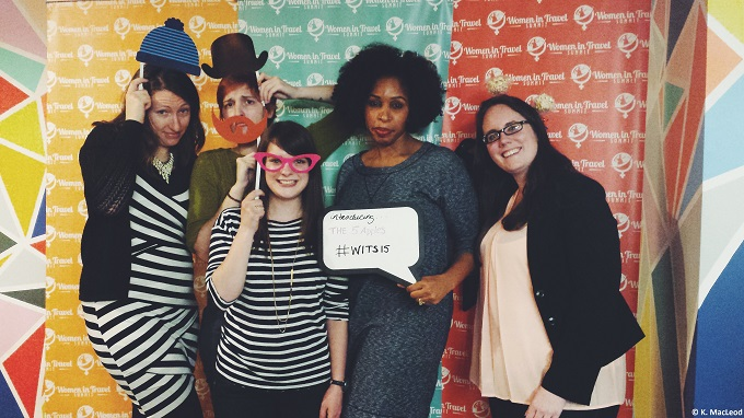 Fun at the Photo Booth at WITS15
