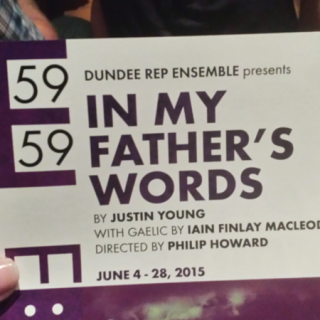 In My Father's Words: Gaelic on Stage in NYC