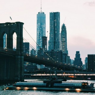 Enjoying A Sunset Cruise Around New York City
