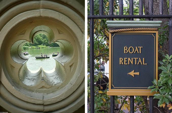 Boat rental Central Park