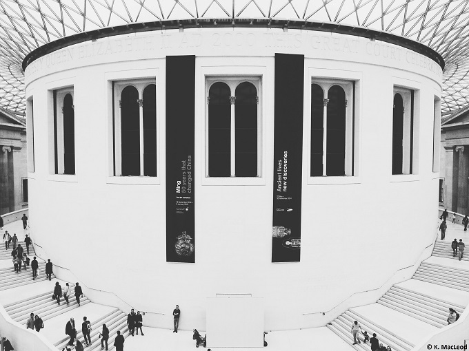 Great Court British Museum London