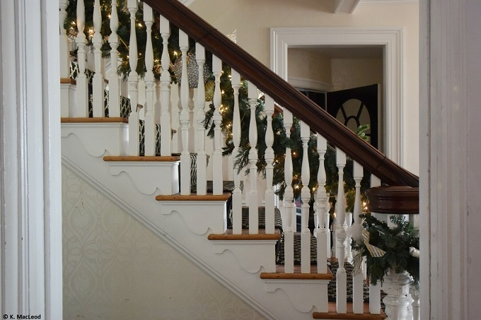 Peter Shields Inn Grand Staircase