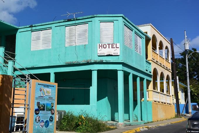 Blue hotel Culebra