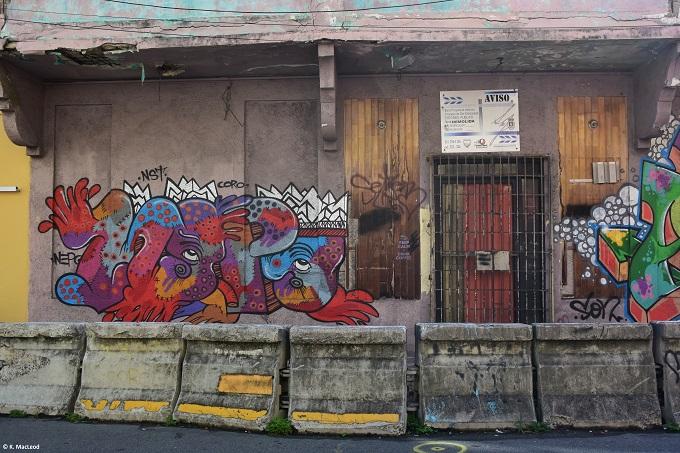 Santurce grafitti