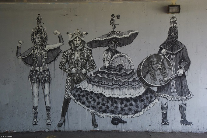 Santurce underpass street art