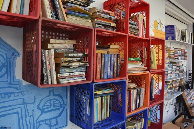 Street library in Santurce