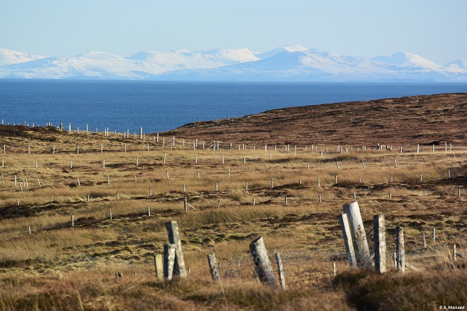 Mainland Scotland from the Isle of Lewis