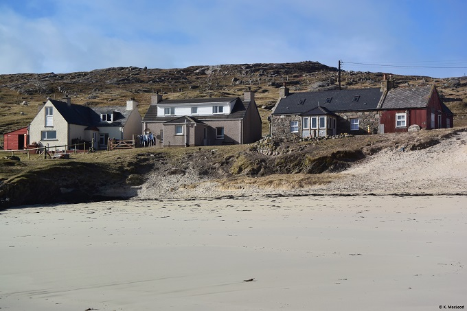 Houses at Huisinis, Isle of Harris