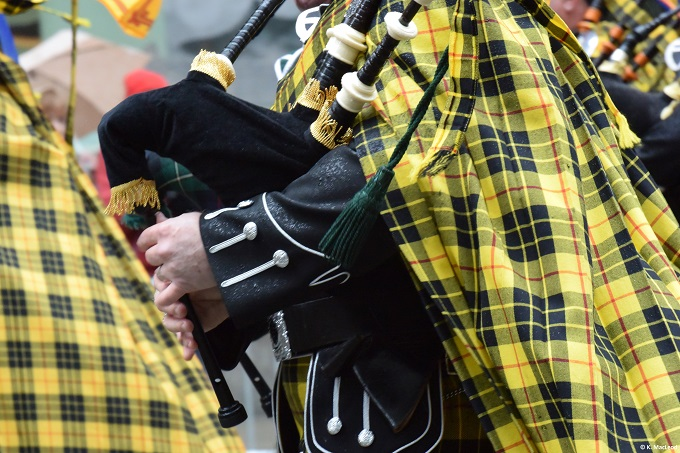 Piper at NYC Tartan Week 2016
