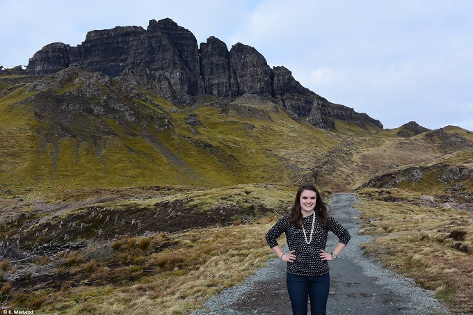 Climbing the Old Man of Storr