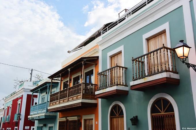 Old San Juan balconies