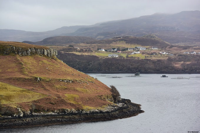 View of Portnalong, Isle of Skye