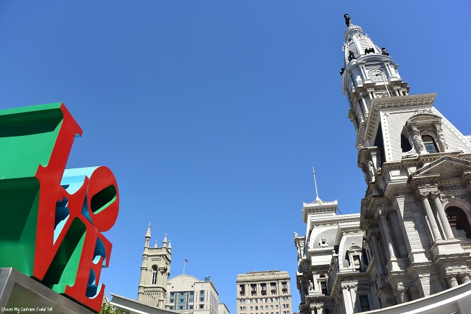 Love Statue and City Hall Philadelphia
