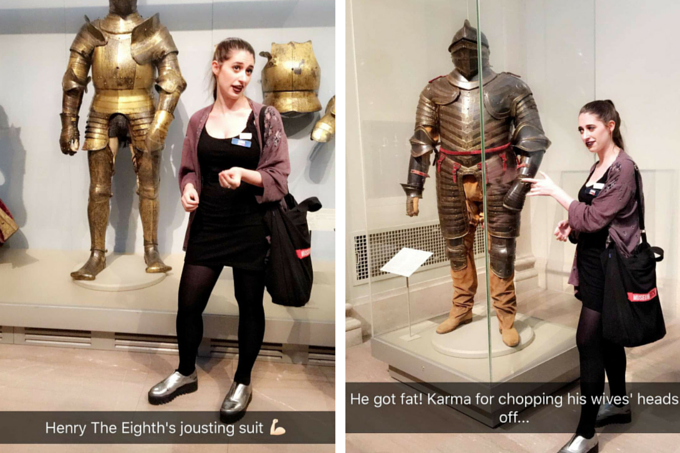Museum Hack Tour Jousting Suits