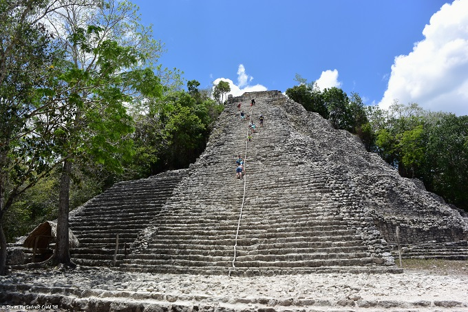 Mayan temple at Coba, Mexico