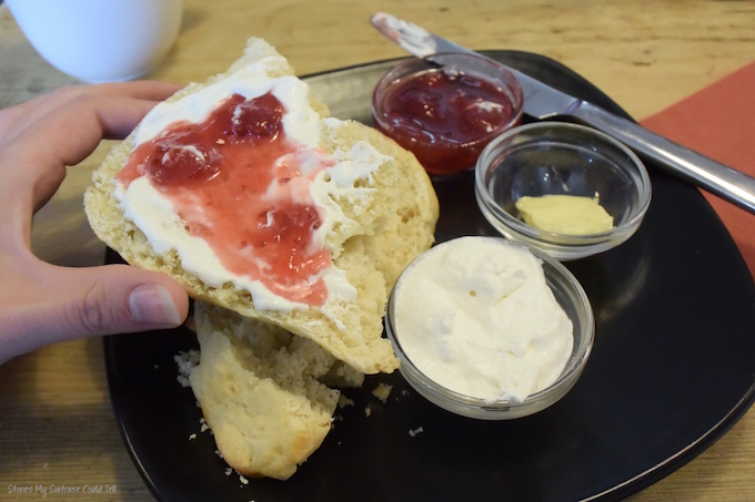 Harris Distillery scones